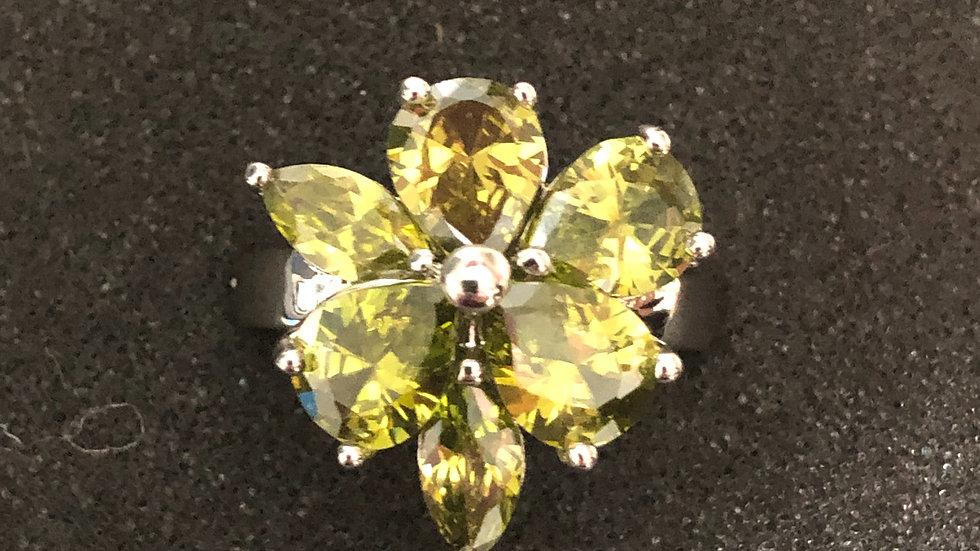 Light Green Flower (6.75)