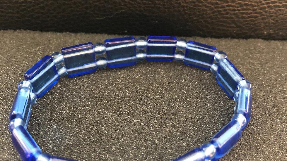 Blue Poly Bracelet