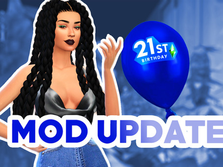 Updated Mods TS4 Feb. 2021
