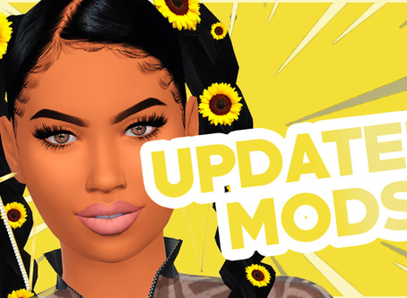 Updated Mods #2 (June 2020 The Sims 4)