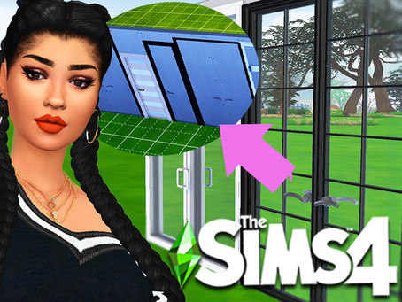 Sims 4: CC Windows & Doors FIXED