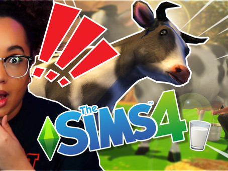 Functional Dairy Cow in The Sims 4