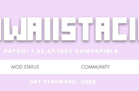 KAWAIISTACIE SITE CHANGES!