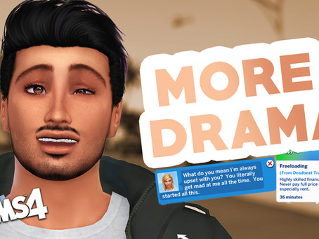 Start A LOT of DRAMA (The Sims 4 Mods)