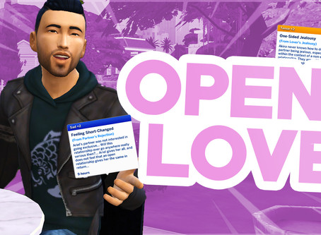 NEW SIMS 4 MOD FOR REALISTIC ROMANCES