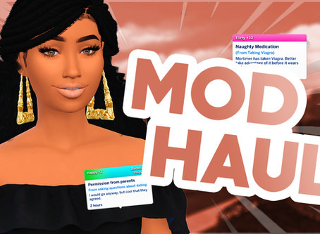 SIMS 4 MODS FOR REALISM & GAMEPLAY (August 2020 Haul)