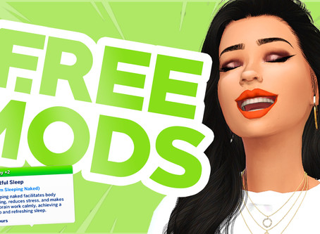 NEW Free Mods for The Sims 4