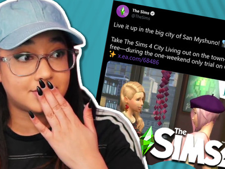 SIMS 4 CITY LIVING FREE THIS WEEKEND