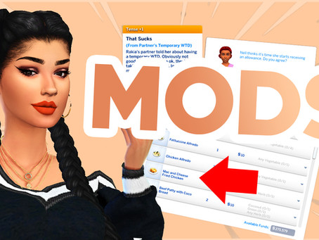 ALL 50+ MODS IN MY SIMS 4 GAME