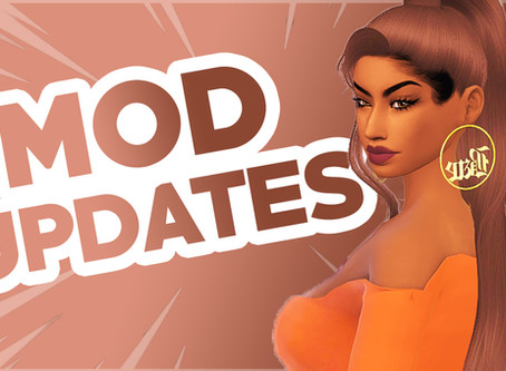 Updated Mods for The Sims 4 #2 (September 2020)