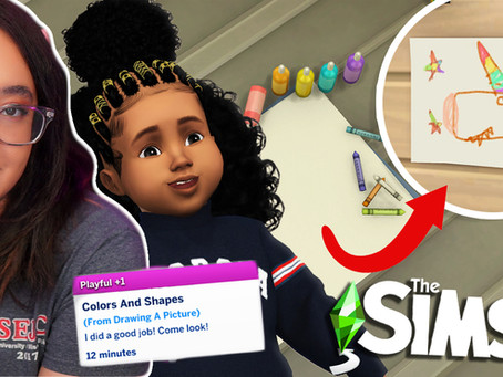 More Toddler Activities for The Sims 4