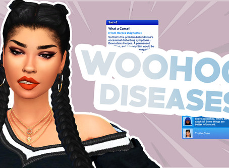 WOOHOO DISEASES IN THE SIMS 4