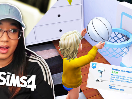 NEW Mod Gives Toddlers More Activities TS4