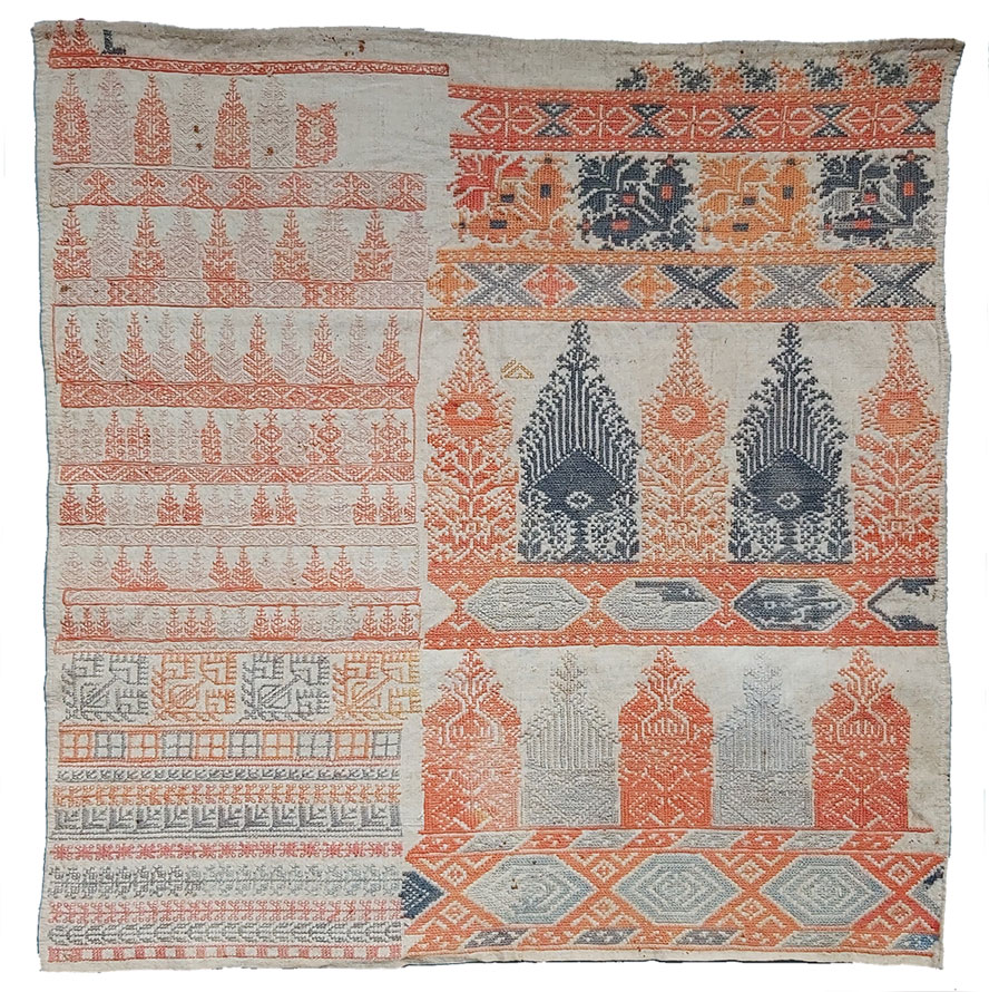 Sampler Morocco, 19th C.