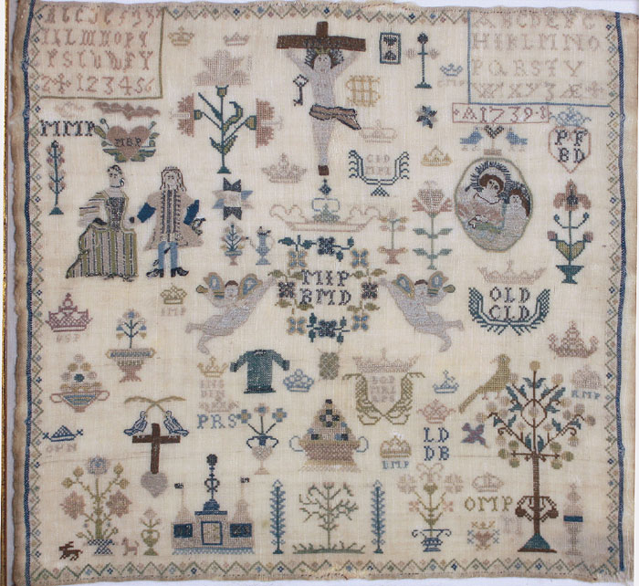 Antique-sampler-1739