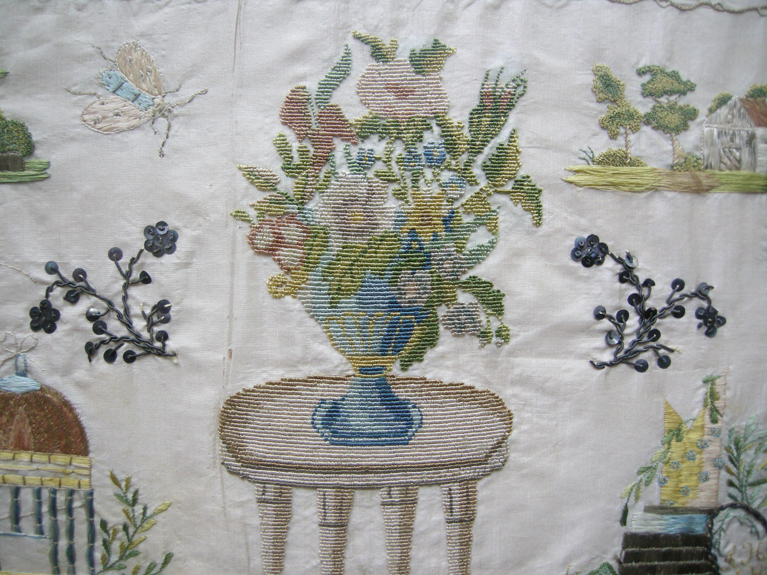 Detail 'Netto' sampler, circa 1800