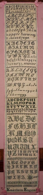 Austrian sampler 1857