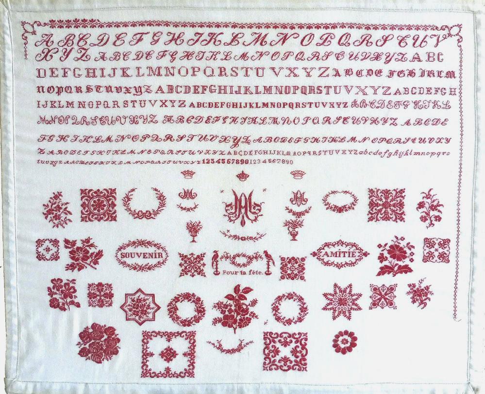 Pour ta fete & Souvenir Amitie, c.1865