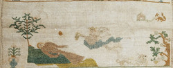 Stickmustertuch 1789