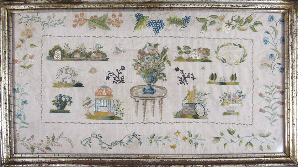Antique 'Netto' sampler, c. 1800