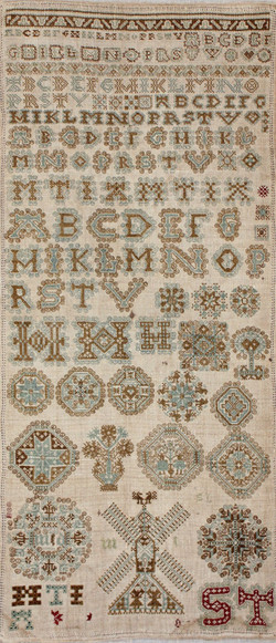Frisian sampler circa 1700