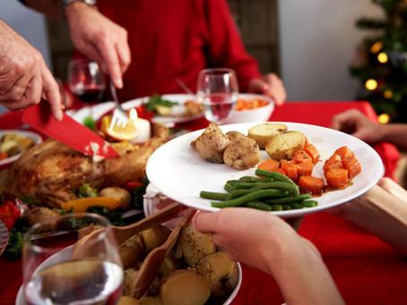 Cómo alimentarte saludablemente durante las fiestas