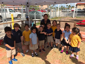 Ms. Maria and her VPK class