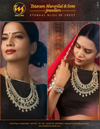 Photography for the Jewellery Editorial