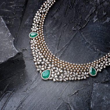 Diamond Necklace Photography