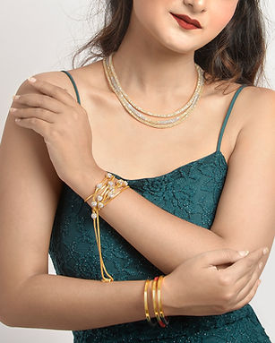 jewellery model photography
