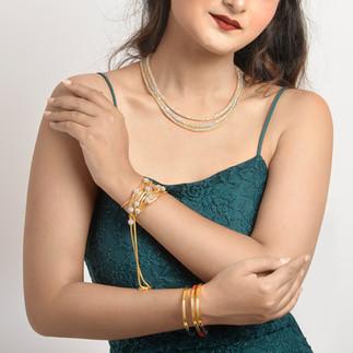 jewellery model photography
