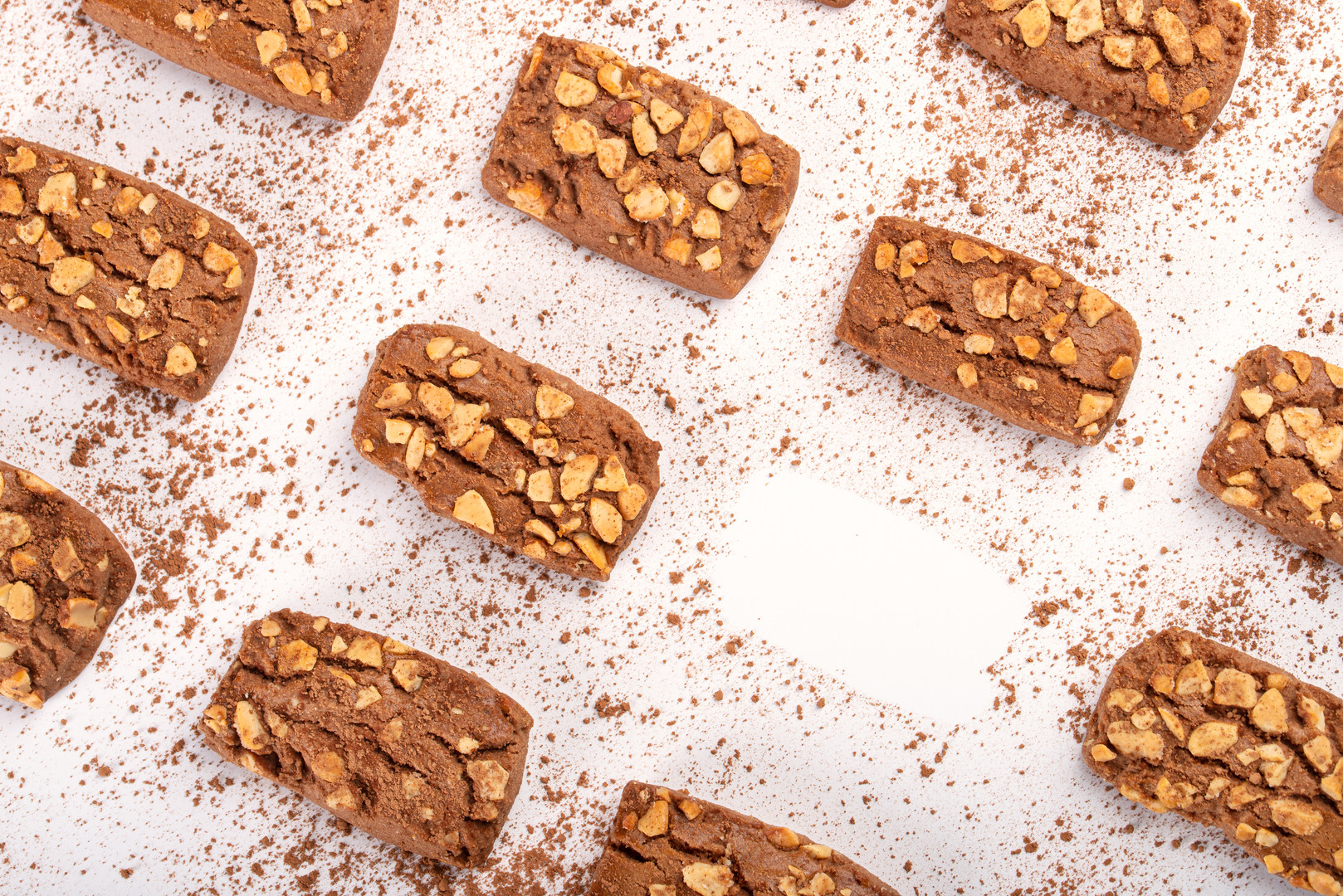 Walnut biscuit concept photography