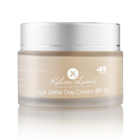 Beauty cream product shot