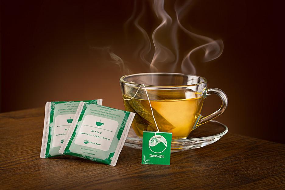 Moringa Tea Photography