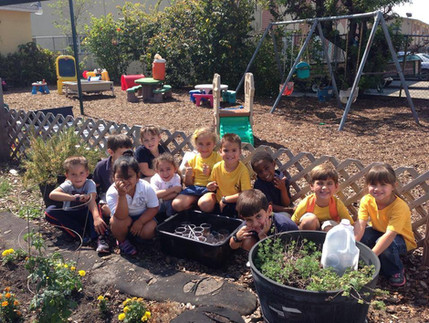 Earth Day Planting!