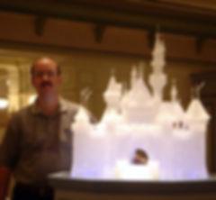 David Sandidge Art Glass Hong Kong Disney