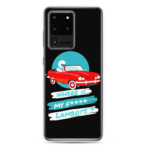 Samsung Case - Lambot - red