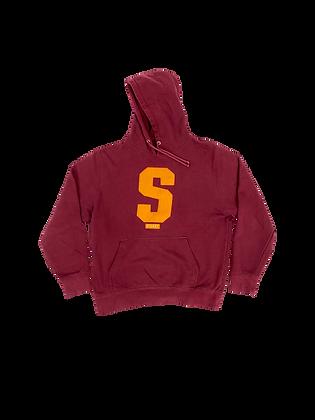 "Stussy ""S"" sweater"