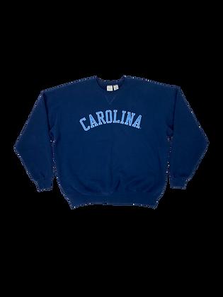 UNC spellout sweatshirt