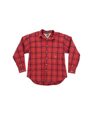 vtg Tommy Hilfiger button-up shirt