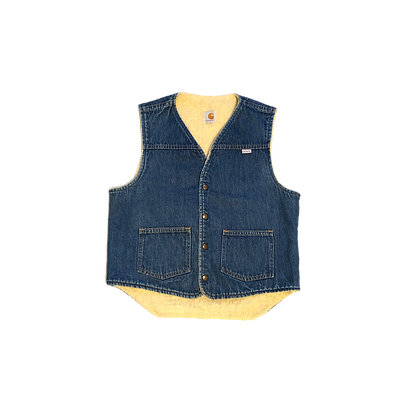 Vintage carhartt jean vest