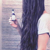 pili oil used for hair to help nourish and prevent dry-ends