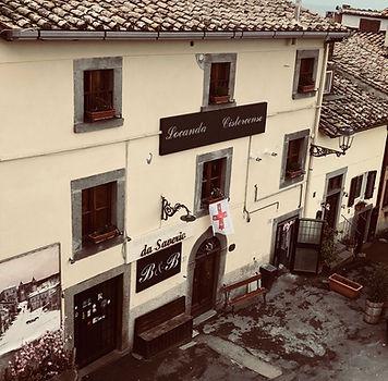Вход B&b La Locanda Cistercense