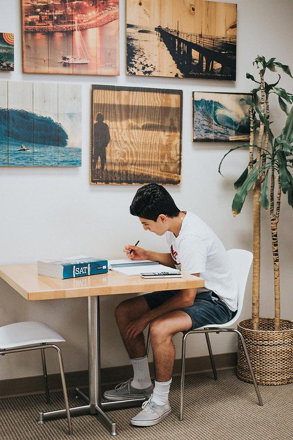 Private tutoring student