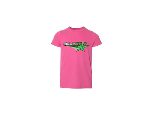 Four Star Tee - Pink