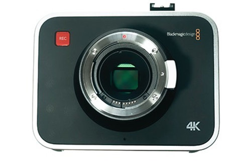 used - Blackmagic Design Production Camera 4K with EF Mount with Case