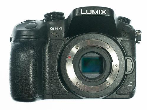 used - Panasonic Lumix DMC-GH4 Mirrorless Micro Four Thirds Digital Camera