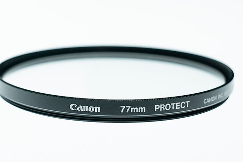 used - Canon 77mm Protector Filter