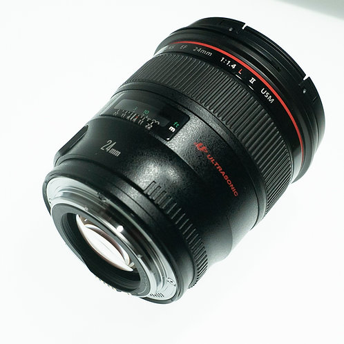 used - Canon EF 24mm f/1.4L II USM Lens