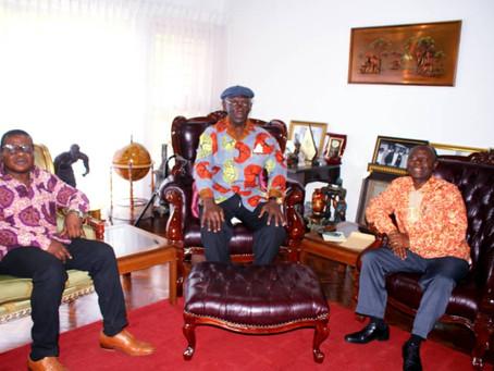 Okyere bonna goes to ghana.